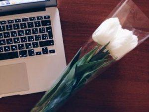 白い花103